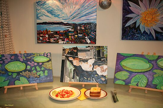 Supper with My ART :-) by Nira Dabush