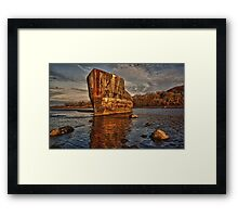 Creteboom the Quay Ballina Co. Mayo Ireland. Framed Print