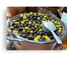 Sweet Olives Canvas Print