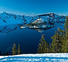 Spring at Crater Lake by Tom Porter