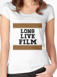 Long Live Film Women's Fitted Scoop T-Shirt