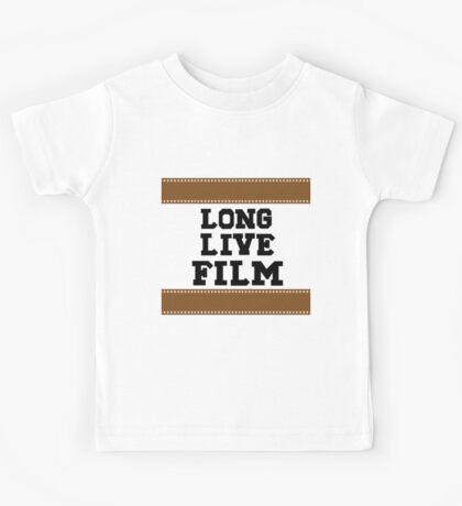 Long Live Film Kids Tee
