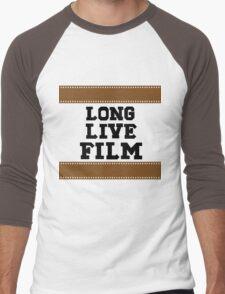 Long Live Film Men's Baseball ¾ T-Shirt