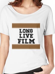 Long Live Film Women's Relaxed Fit T-Shirt