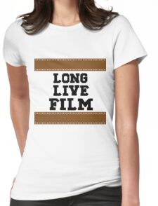 Long Live Film Womens Fitted T-Shirt