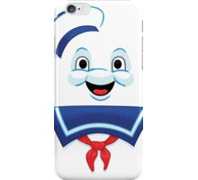 Mr. Marshmallow Destruction (Happy Version) iPhone Case/Skin
