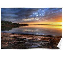 Local Color At Lake Eufaula Poster