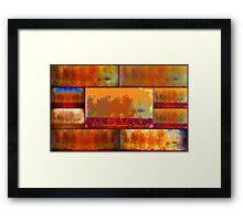 Wilderness Quilt Framed Print