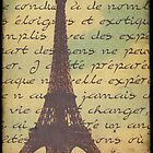 Sweet Eiffel Tower 5 by CalicoCollage