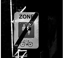 zone Photographic Print