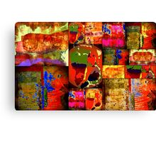 Kinetic WORLD Quilt Canvas Print