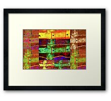 Rite of Passage Quilt Framed Print