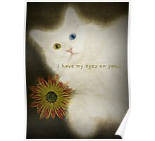 I Have My Eyes on You Poster