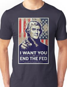 Thomas Jefferson End the Fed T-Shirt
