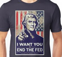 Thomas Jefferson End the Fed Unisex T-Shirt