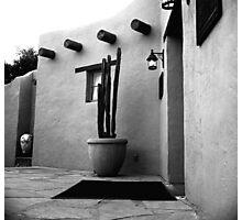 Arizona Patio Photographic Print
