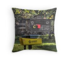Letter Delivery Throw Pillow