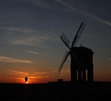 Sun's up at Chesterton Windmill by yampy