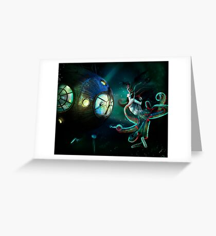 20,000 Leagues Greeting Card