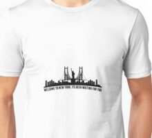 WELCOME TO NEW YORK taylor swift Unisex T-Shirt