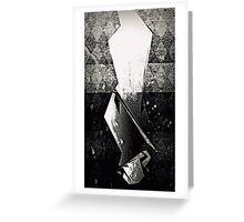 The Hanged Man Tarot Card Greeting Card
