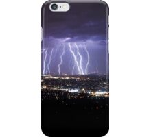 Mt Dandenong Victoria - Thunder Storm Lightning from Skyhigh October 2015 iPhone Case/Skin