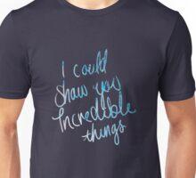 Taylor Swift Incredible Things Lyric Art Unisex T-Shirt