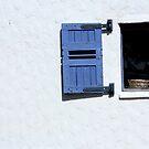 Blue window by fourthangel