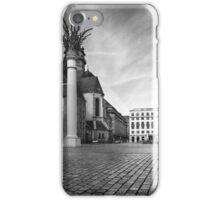 Urban Street Scene - City Square Leipzig Germany iPhone Case/Skin