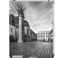 Urban Street Scene - City Square Leipzig Germany iPad Case/Skin
