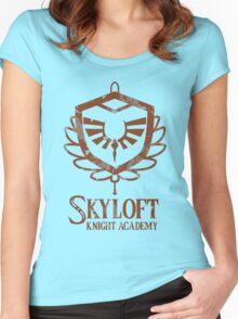 Skyloft Knight Academy Women's Fitted Scoop T-Shirt