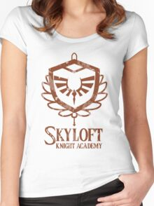 Skyloft Knight Academy Women's Fitted Scoop T-Shirt