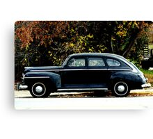 1948 Plymouth Special Deluxe Coupe Canvas Print