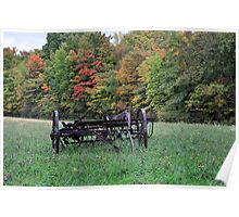 Early fall rural scene Poster