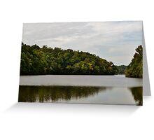 Mirror Lake, GA Greeting Card