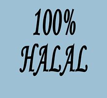 100% Halal Womens Fitted T-Shirt