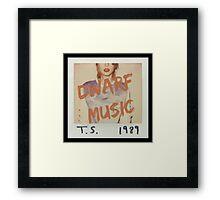 Dwarf Music Framed Print