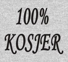 100% kosjer (nederlands) by stuwdamdorp