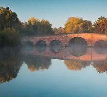 Sunrise over Sonning Bridge by Rob Lodge