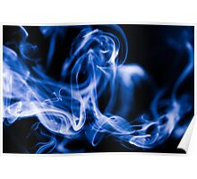Smoke Close Up Poster