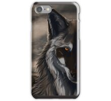 Lone Wolf Cover iPhone Case/Skin