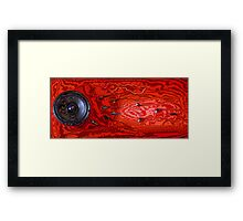 Creation of sound Framed Print