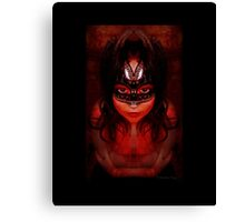 Purgatory's Caress Canvas Print