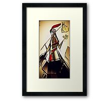 The Fool Tarot Card Framed Print