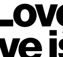 André Cymone Love to Dance Electric Helvetica Threads Sticker