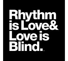 André Cymone Love to Dance Electric Helvetica Threads Photographic Print