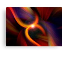 Twisted Fire Starter Canvas Print