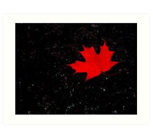 Fall ! Art Print