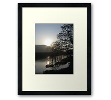 Night Over Daleswater Framed Print