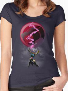 EPIC THUNDER SWORD SCENE Women's Fitted Scoop T-Shirt
